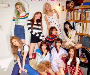 k-pop, once, and twice image