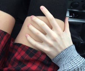 baby, plaid, and boyfriend image
