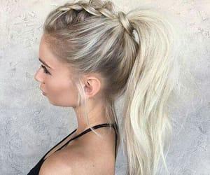 braids, fashion hair, and hair styles image