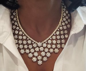 jewelry, necklace, and diamonds image