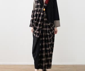 etsy, cotton dress, and long sleeve dress image