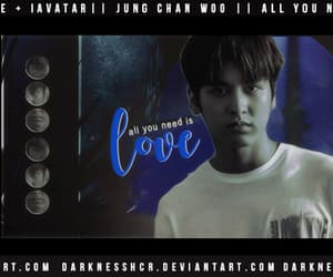 edit, Ikon, and jung chan woo image