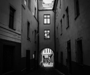 black&white, czech republic, and old image