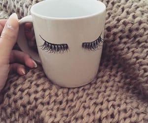 cup, girly, and mug image