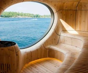 article, routine, and sauna image