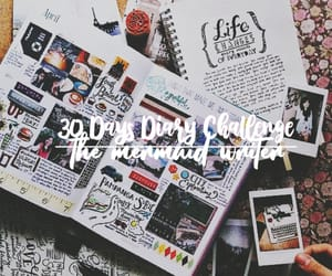 art, diary, and article image