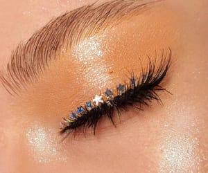 beauty, cosmetics, and eyebrows image