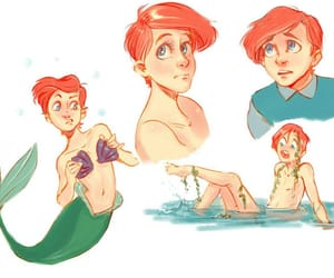 disney, genderbent, and male disney image