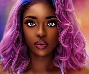digital art and black art image