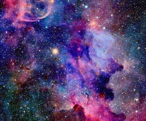 aesthetic, glitter, and night sky image