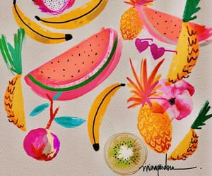 colors, FRUiTS, and happy image