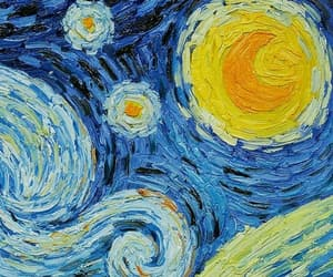 wallpaper, art, and van gogh image