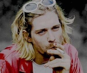 kurt cobain, twitter icon, and nirvana image
