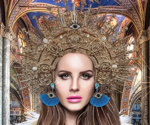 art, Collage, and lana de rey image