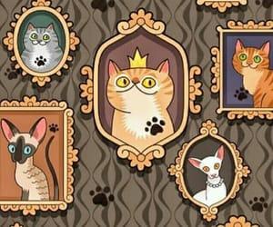 cats, fondo, and felinos image