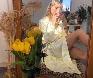 elegant, flowers, and fashion image
