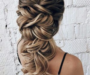 hair, styles, and long image