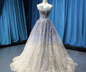 fashion, glitter, and grey dress image