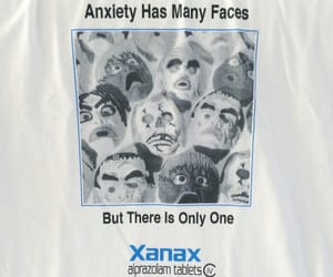 drugs, masks, and xanax image