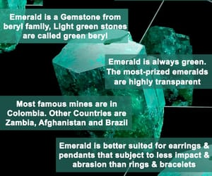 emerald gemstone, emerald stone, and panna stone image