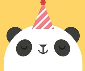 happy birthday, pandas, and abejas image