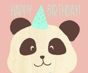 Animales, happy birthday, and pandas image
