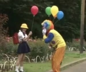 clown, aesthetic, and theme image