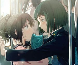 cute, anime, and love image