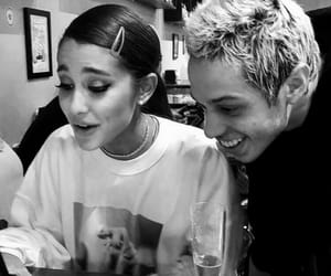 ariana grande, pete davidson, and sweetener image