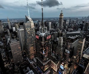 architecture, cities, and empire state building image