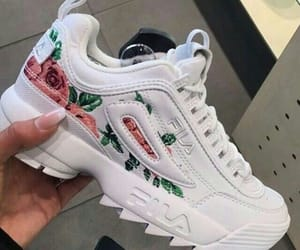 sneakers, Fila, and shoes image