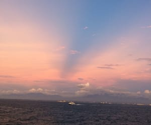 astrology, pink, and pink sky image
