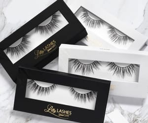 lashes, cosmetics, and beauty image