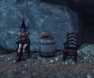 barrel, fallout, and night image