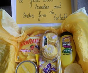 gifts and yellow image