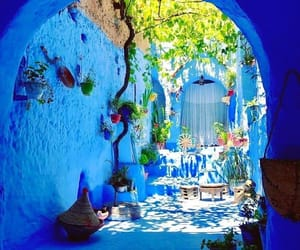 blue, chefchaouen, and blue city image
