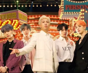 persona, halsey, and bts image