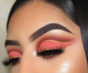 beauty, fashion, and eyeshadow image