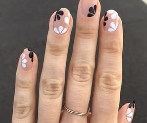 moda, nail, and style image