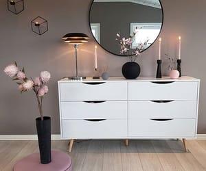 decor, girl, and home image