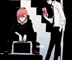anime, gif, and dazai osamu image