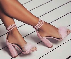 fashion shoes, pink shoes, and shoes styles image