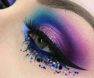 beauty, maquillaje, and color image