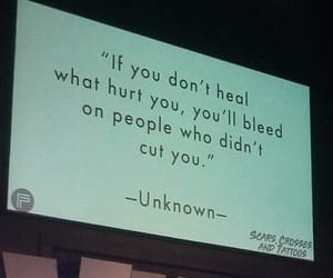 heal, hurt, and quotes image