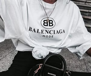 accessories, jeans, and Balenciaga image