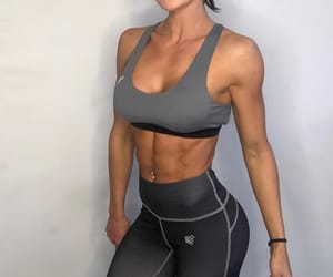 abs, fit, and muscle image