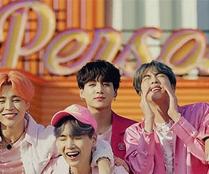 gif, bts, and boy with luv image