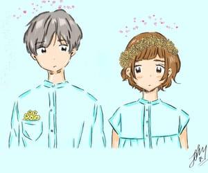 anime, digital, and illustration image