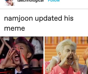 bts, funny post, and bts meme image