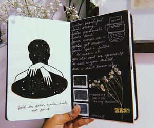 art, inspo, and journal image